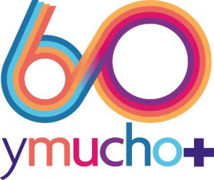60 y mucho más + logotipo